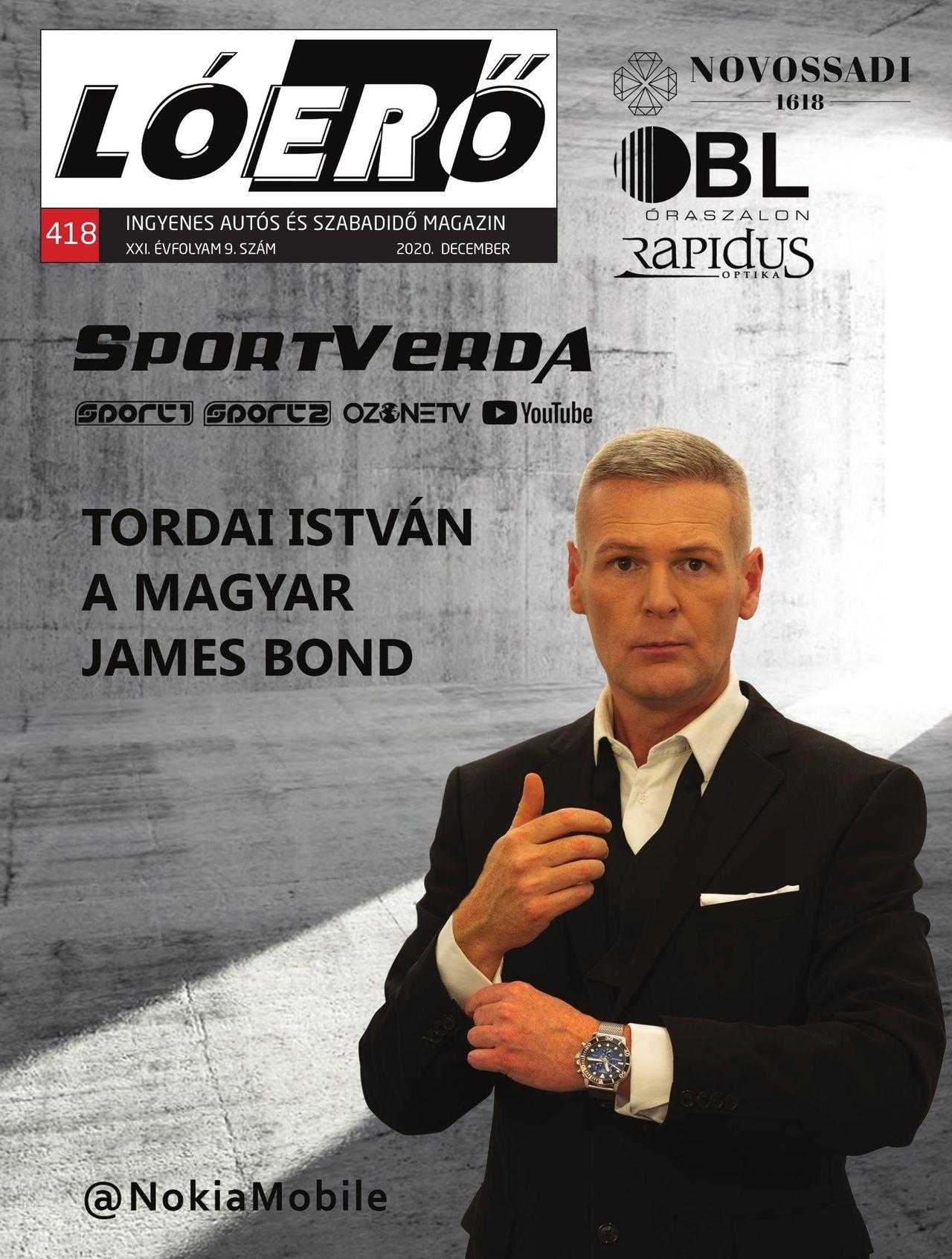 Loero címlap Tordai István James Bond