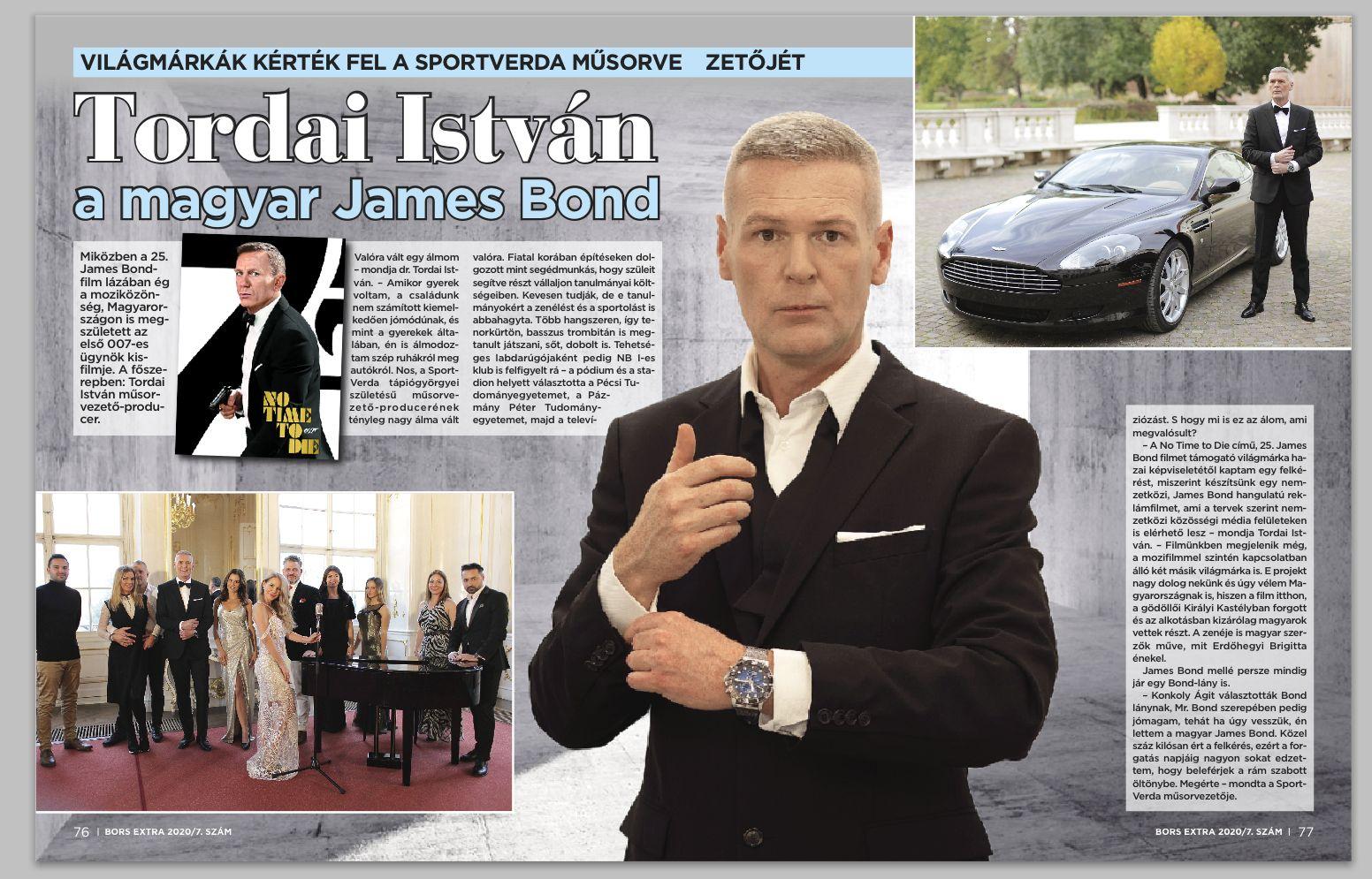 Tordai István James Bond Bors Extra