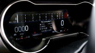 Ford Mustang GT V8 belső