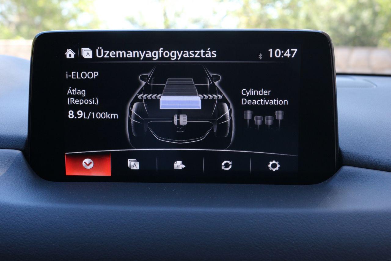 Mazda CX-5 G194 AWD fogyasztás