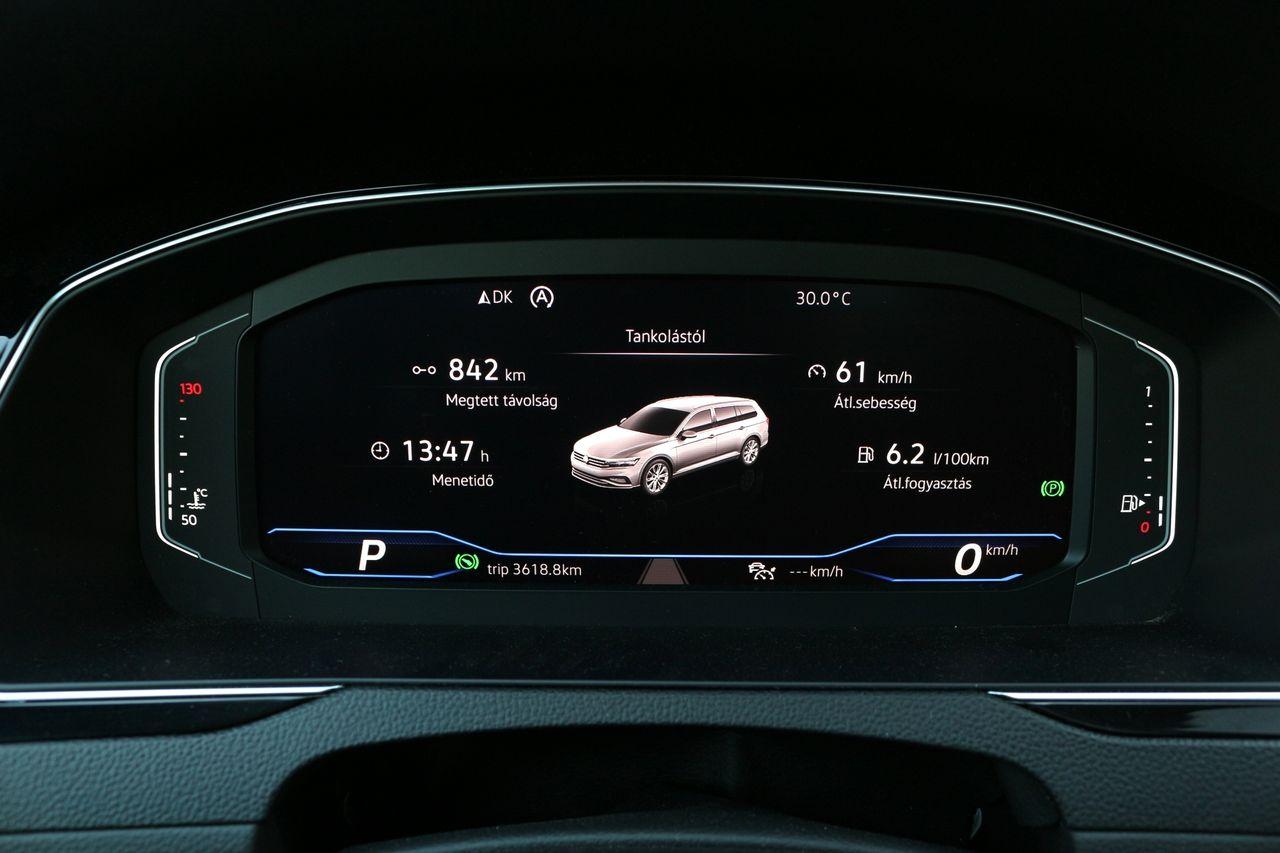 VW Passat Variant fogyasztás