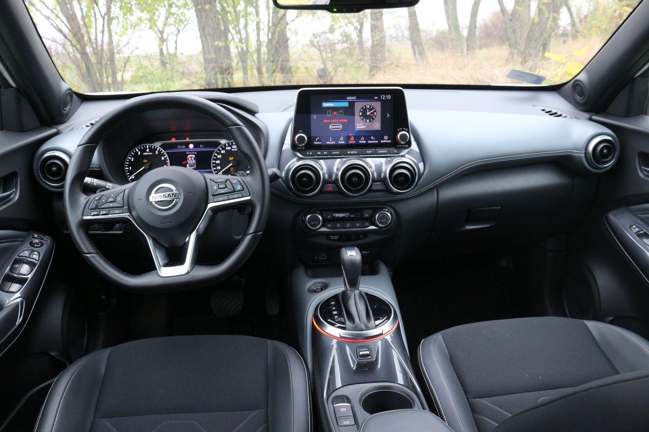 Nissan Juke belső