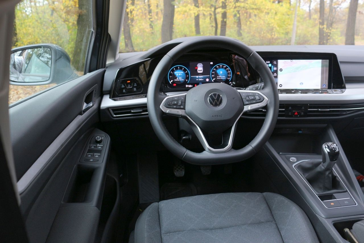 VW Golf belső