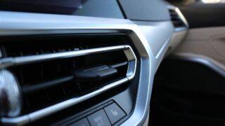 BMW 330E Touring belső