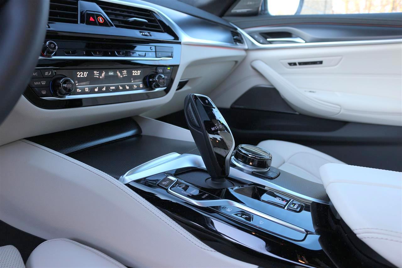 BMW 530e belső