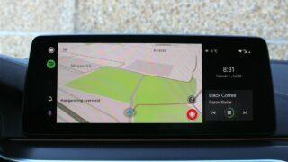 BMW 530e xDrive navigáció