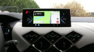 DS3 Crossback E-Tense navigáció