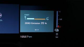Citroen C5 Aircross emisszió