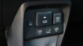 Honda e belső
