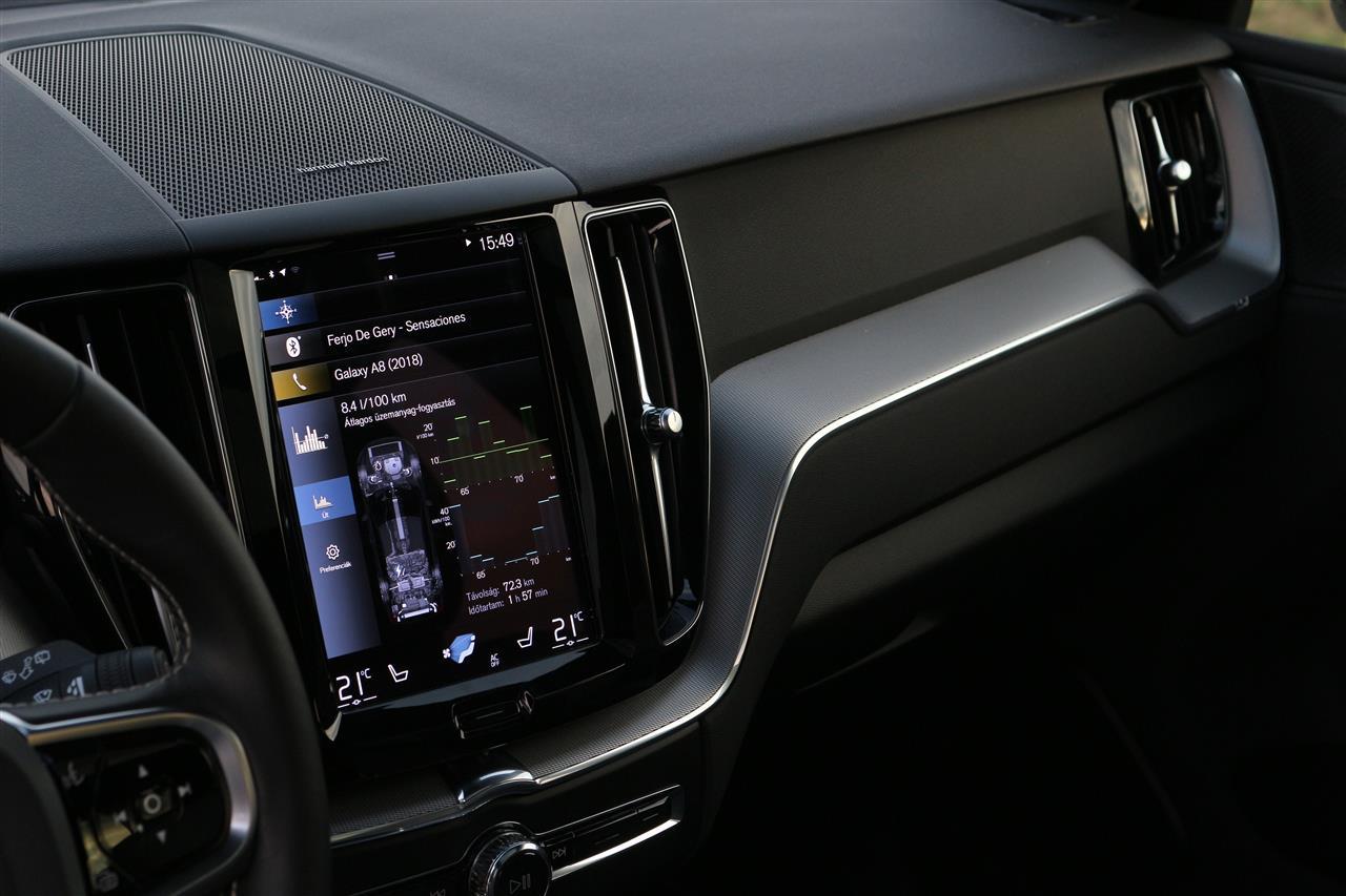 Volvo XC60 Recharge belső