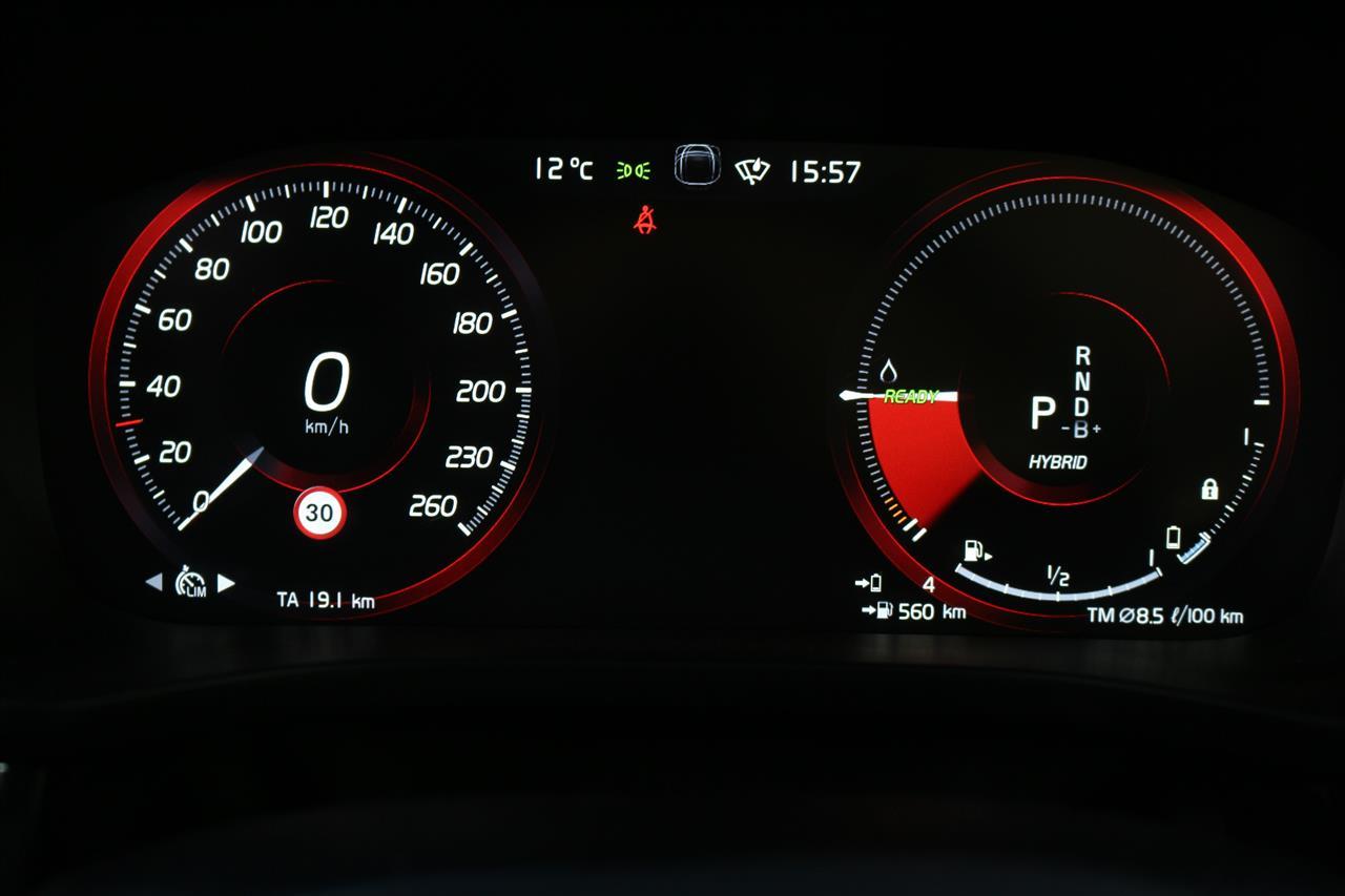 Volvo XC60 Recharge műszerfal