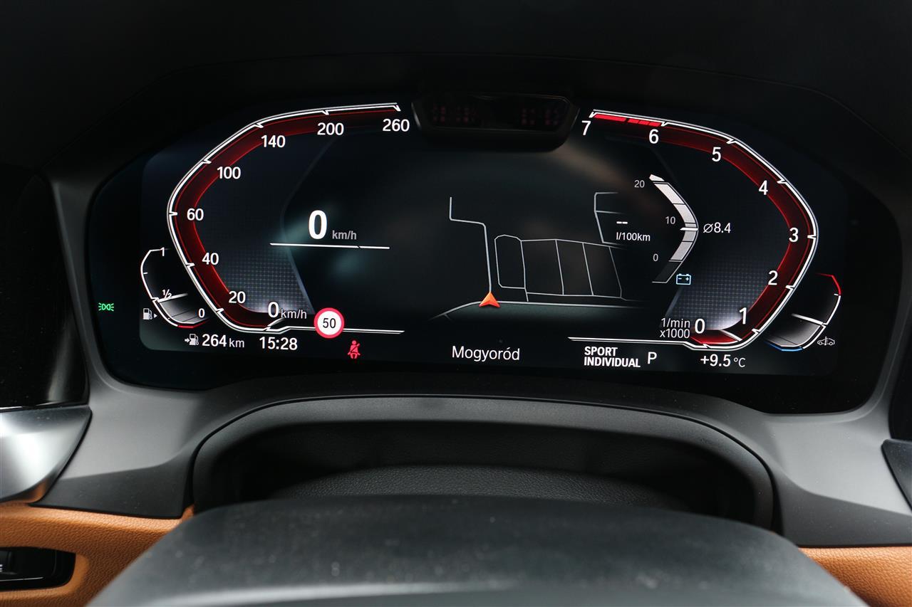 BMW 430i M sport műszerfal
