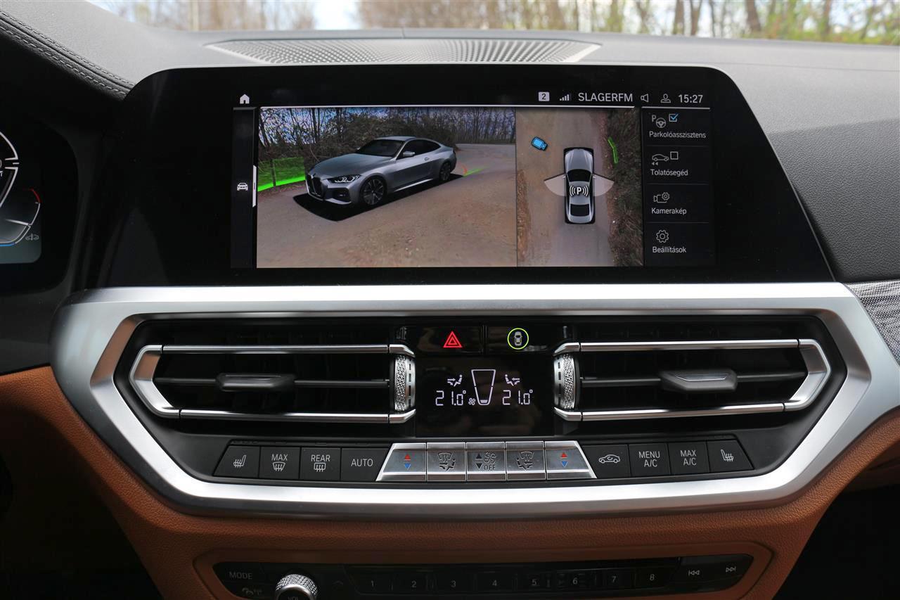 BMW 430i M sport belső