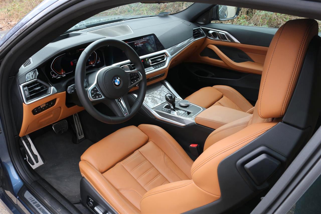 BMW 430i belső