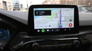 Ford Kuga navigáció