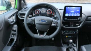 Ford Puma ST belső