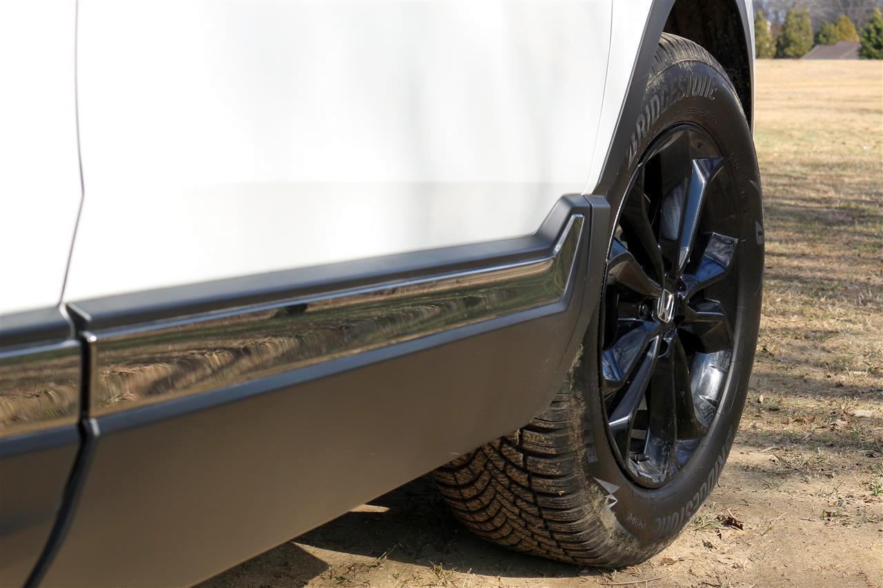 Honda CR-V hasmagasság, alufelni
